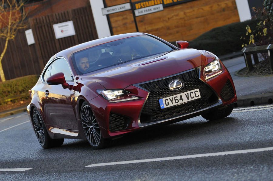 2015 Lexus RC F UK review | Autocar