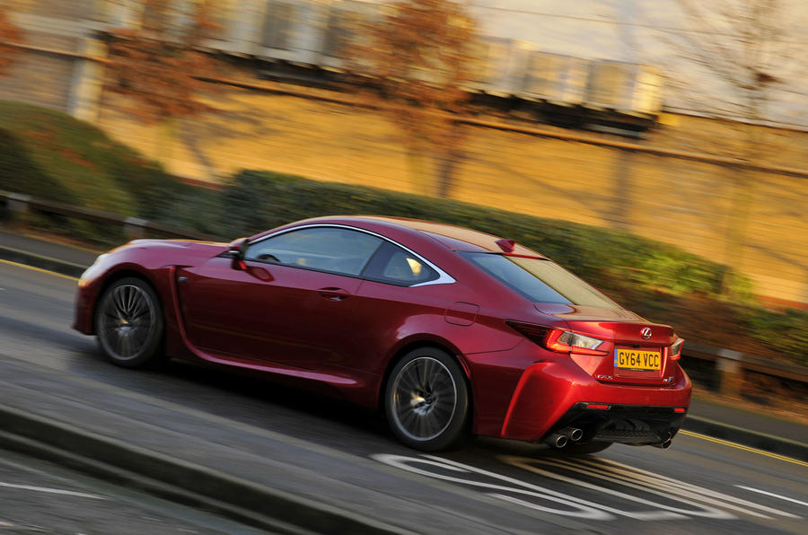 3.5 star Lexus RC F
