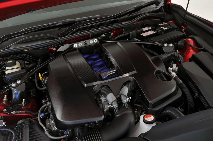 5.0-litre V8 Lexus RC F engine