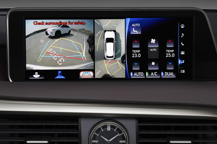 2015 Lexus RX 450h Premier interior