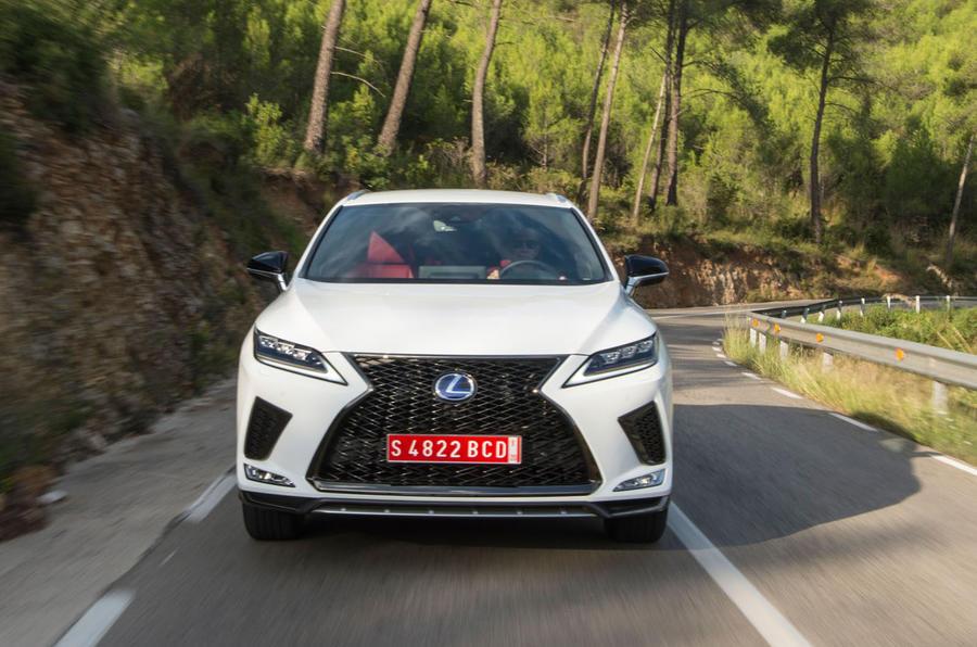 Lexus RX F Sport 2019 front profile