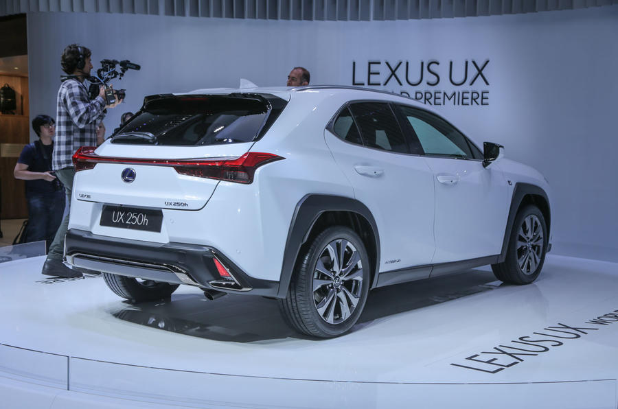 lexus ux crossover revealed with aggressive design and new