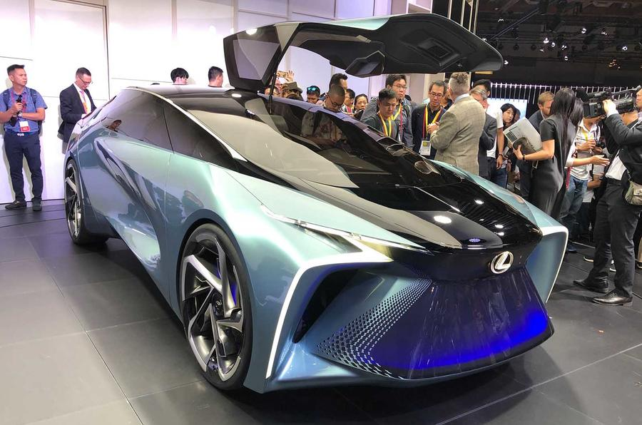Lexus Plans To Launch Battery EV Launch In 2020
