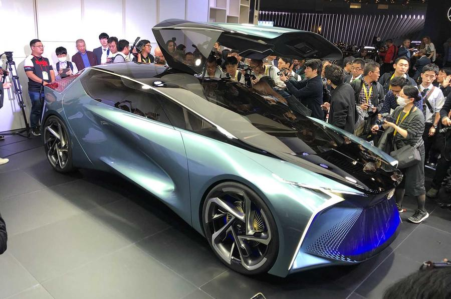 BMW i3 boost, Nissan electric crossover concept, Lexus' EV vision for 2030