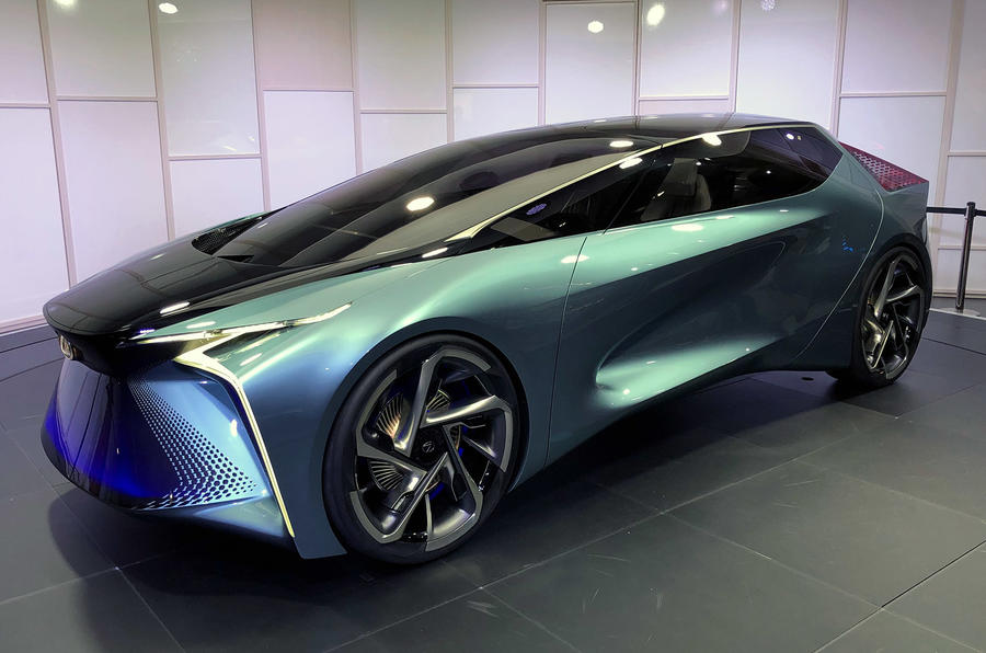 Lexus LF-30 concept at Tokyo motor show - front