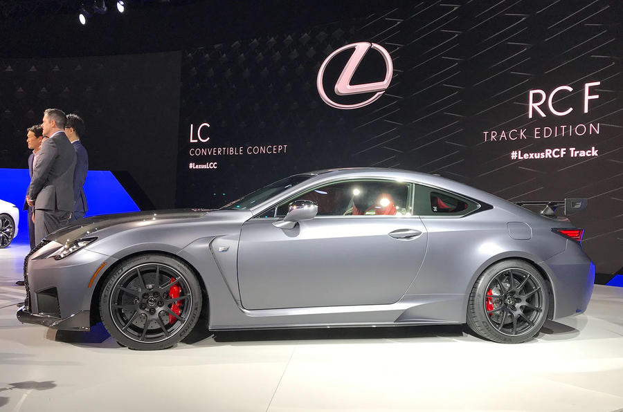Lexus RC F Track Edition side