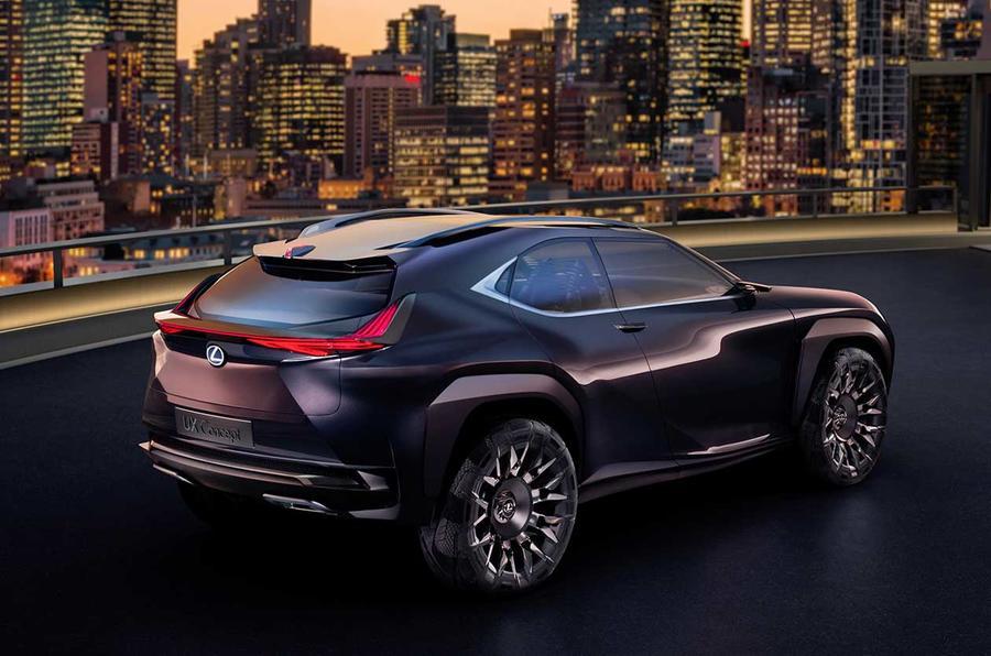 Lexus UX concept revealed in Paris | Autocar