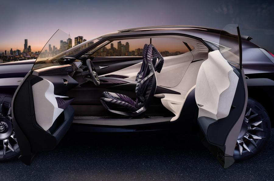 Lexus UX concept revealed in Paris