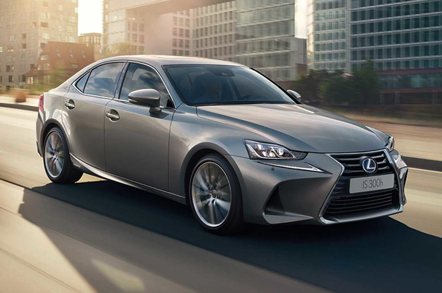 facelifted lexus is is shown in paris autocar. Black Bedroom Furniture Sets. Home Design Ideas