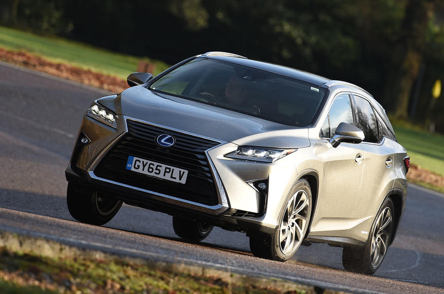 Lexus rx 450h review