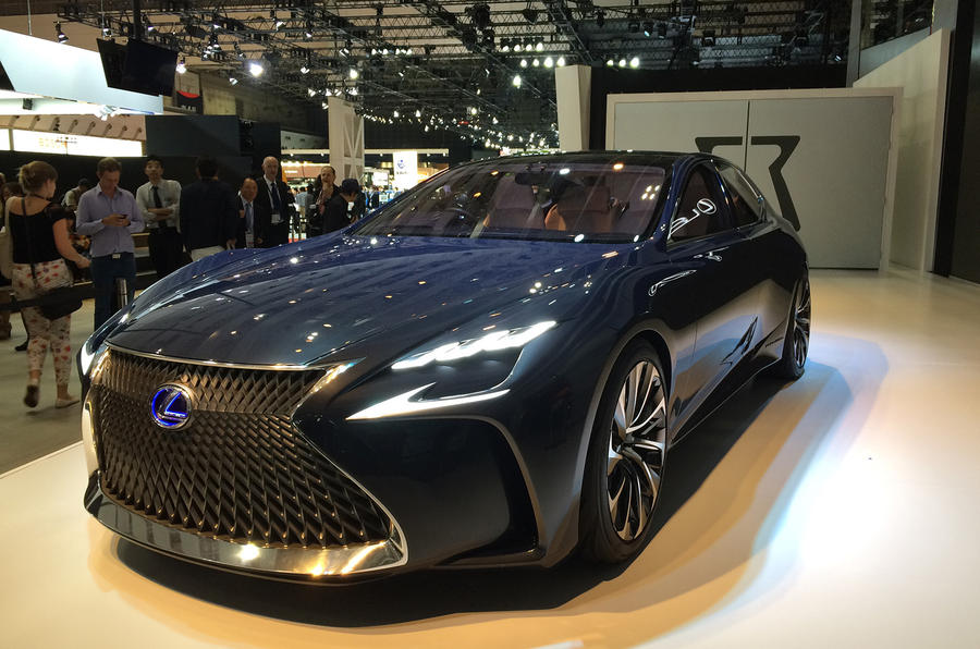 Lexus Coupe For Sale >> New Lexus LF-FC fuel cell concept to go on sale before ...