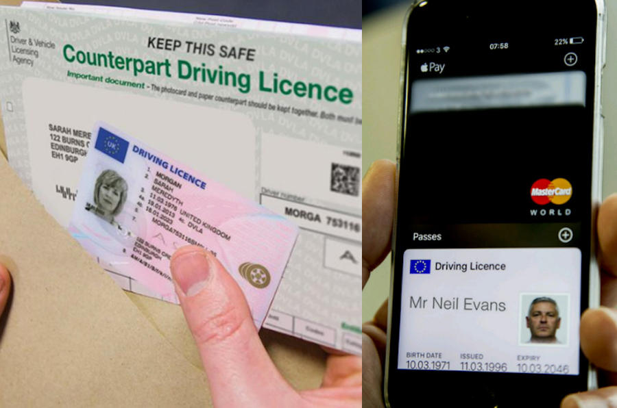 Licence changes