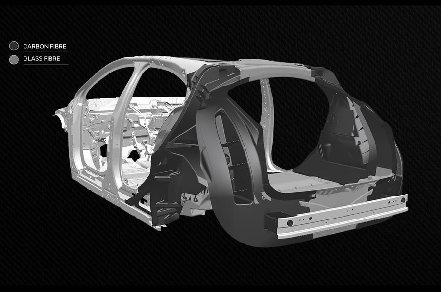 Jaguar Land Rover Tucana gráfico trasero