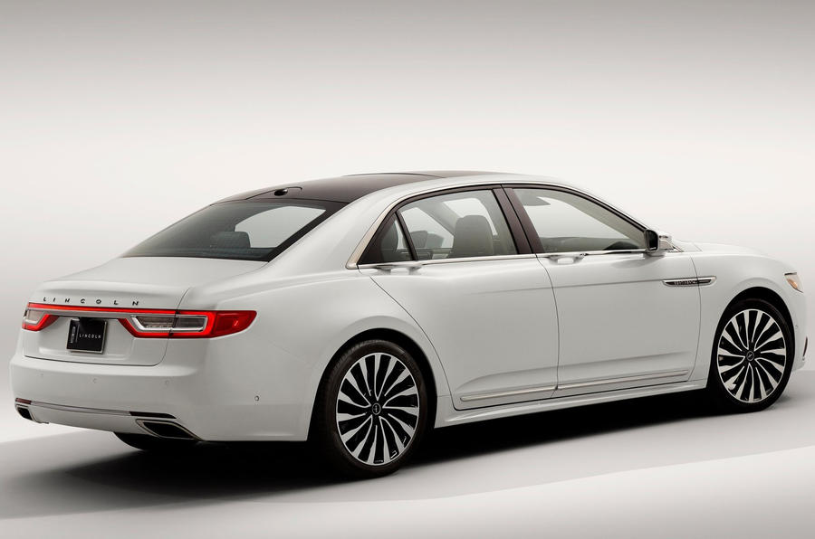 2017 Lincoln Continental Revealed At Naias Autocar