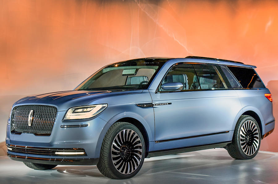 Lincoln Navigator Large Suv Concept Revealed In New York