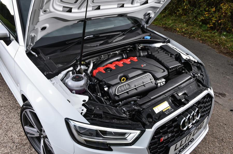 Litchfield Audi RS3 engine bay