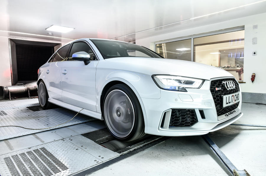 Litchfield Audi RS3 on the dynamo