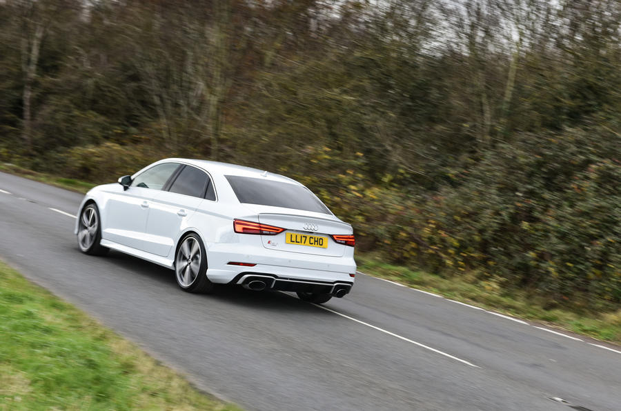 Litchfield Audi RS3 rear cornering