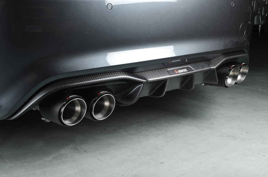 Litchfield BMW M2 Akrapovic exhaust