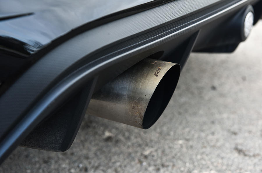 Litchfield Ford Focus RS exhaust system