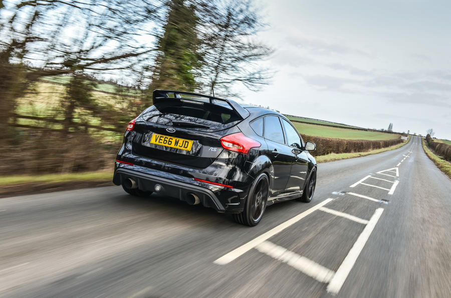 Litchfield Ford Focus RS rear cornering