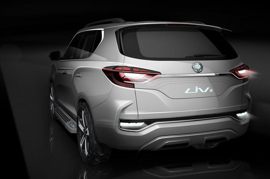 2017 Ssangyong Rexton previewed in LIV-2 concept form ...