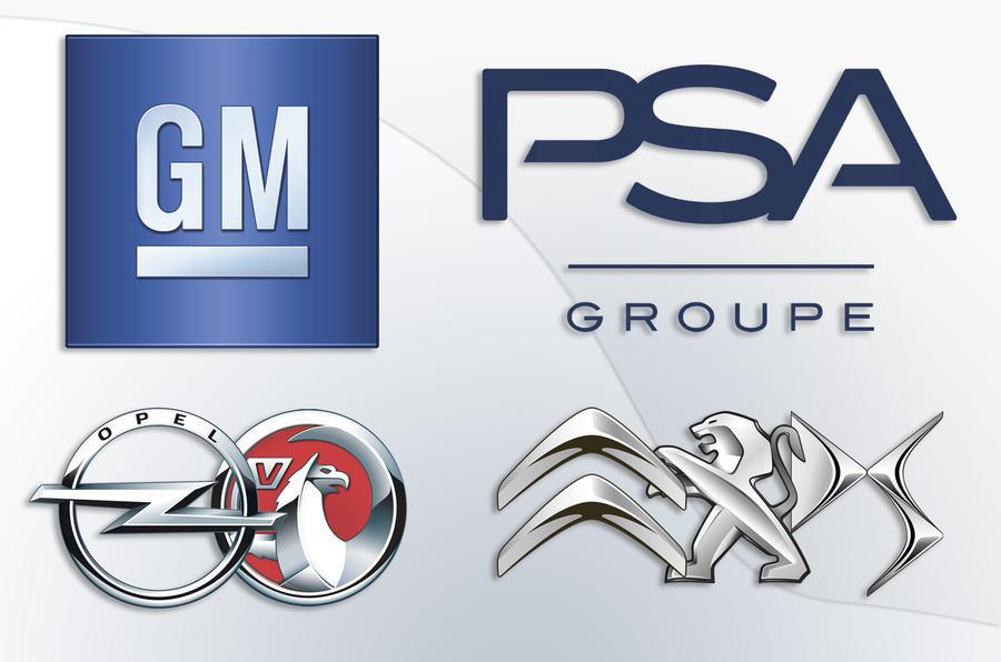 PSA Vauxhall logos