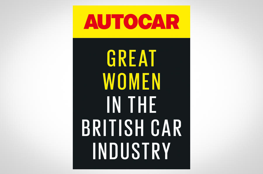 Great women in the British car industry 2020