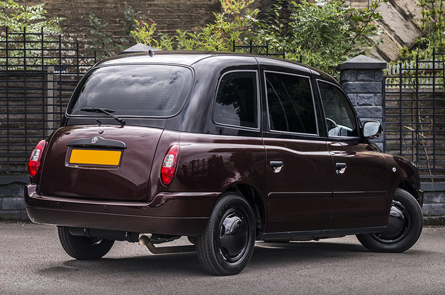 Afzal Kahn-designed TX4 Last of Line Edition cab revealed
