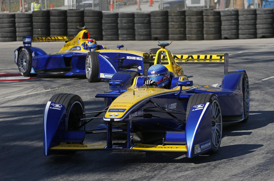 Sébastien Buemi, Long Beach 2015