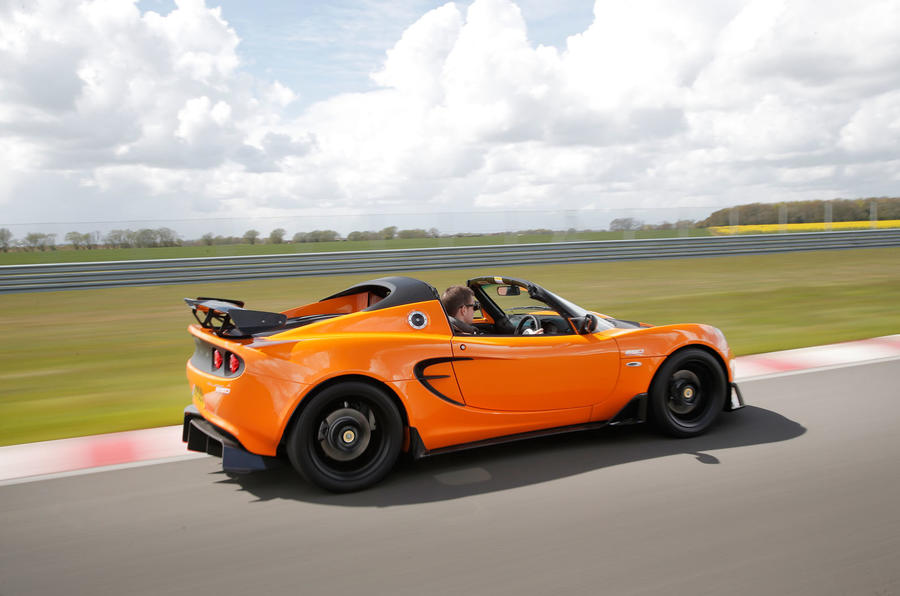 Lotus Elise Cup side profile