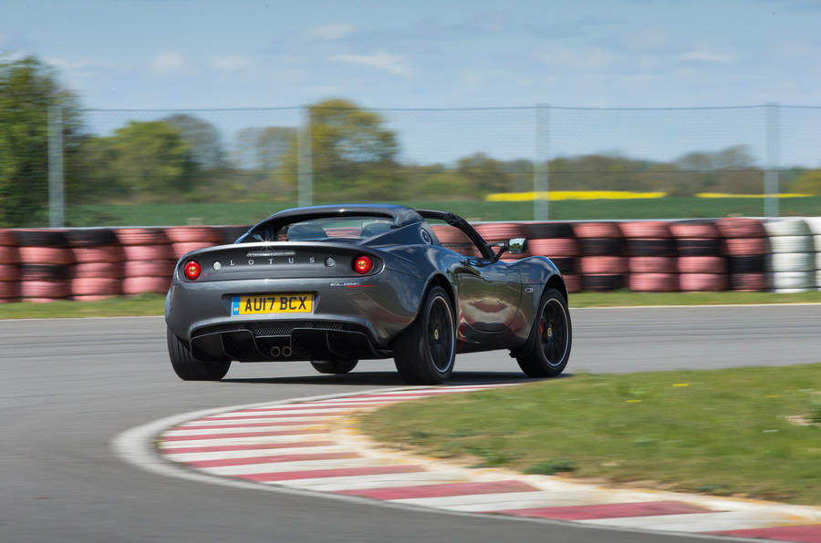 Lotus Elise Sprint rear cornering