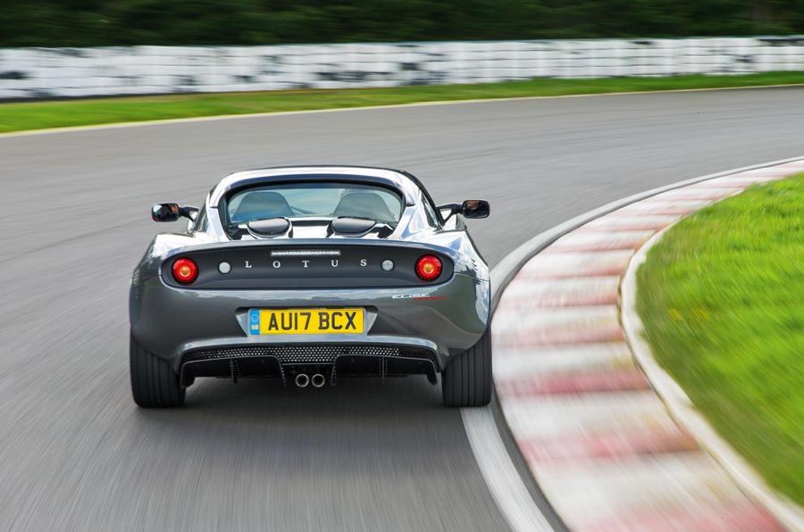 Lotus Elise Sprint rear end