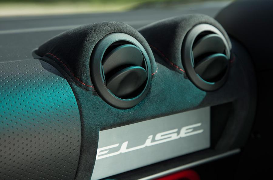 Lotus Elise Sprint air vents