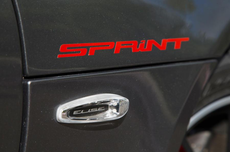 Lotus Elise Sprint badging