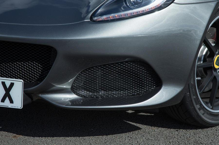 Lotus Elise Sprint air intake