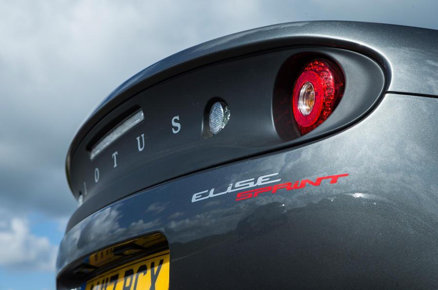 Lotus Elise Sprint rear lights