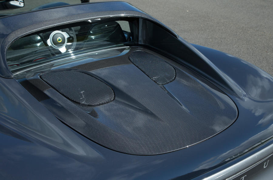 Lotus Elise Sprint engine cover