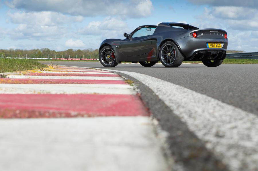 Lotus Elise Sprint rear quarter