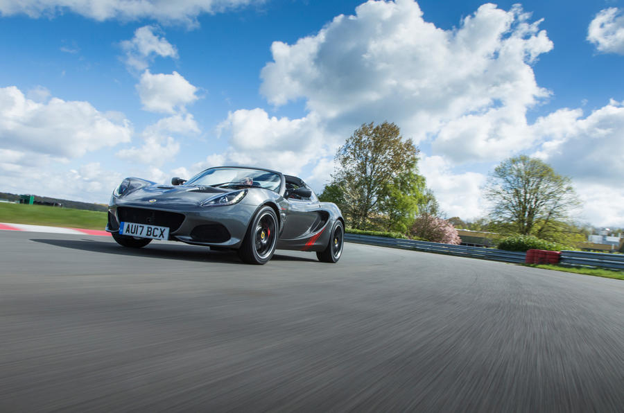 Lotus Elise Sprint cornering