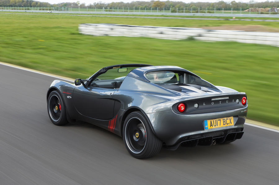Lotus Elise Sprint rear