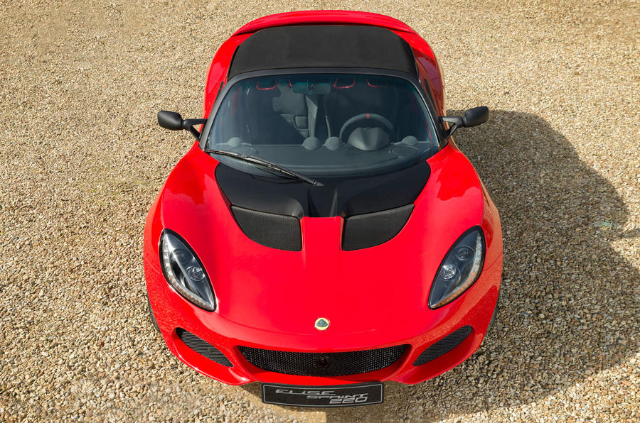 Updated Lotus Elise