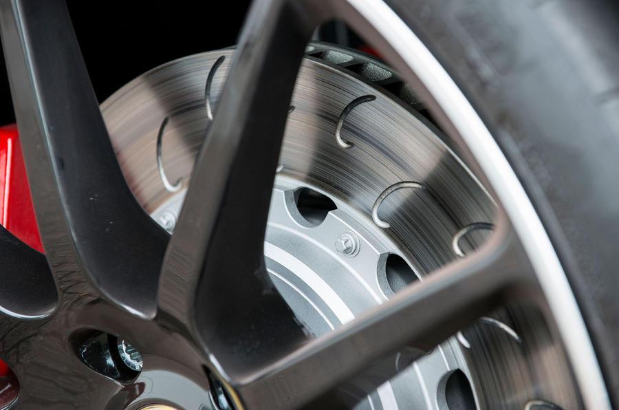 Lotus Evora GT430 brake discs