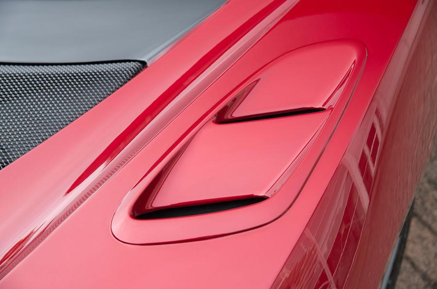 Lotus Evora GT430 brake ducts