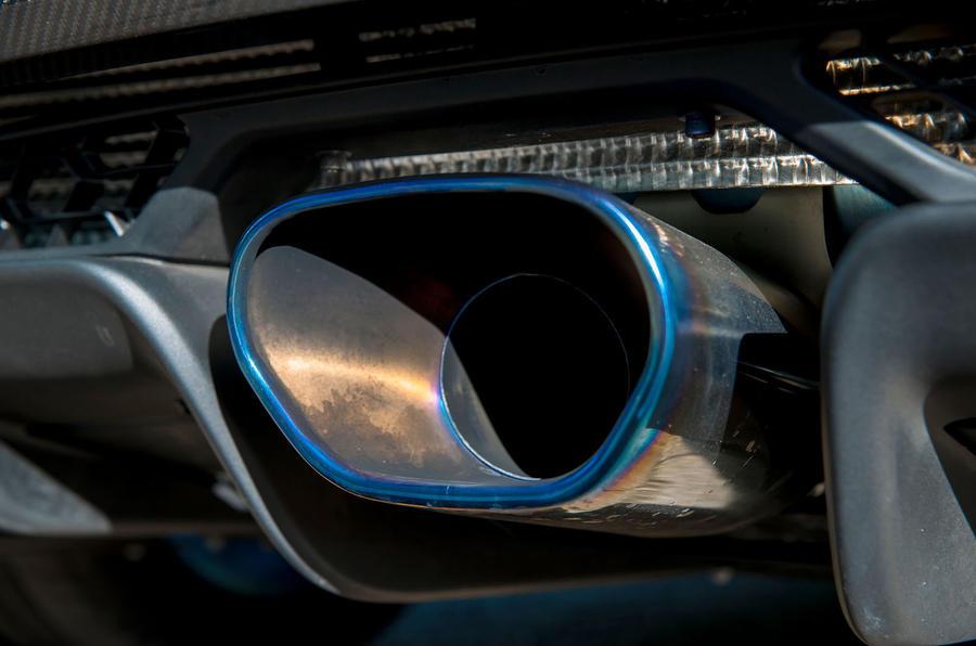 Lotus Evora GT430 exhaust system