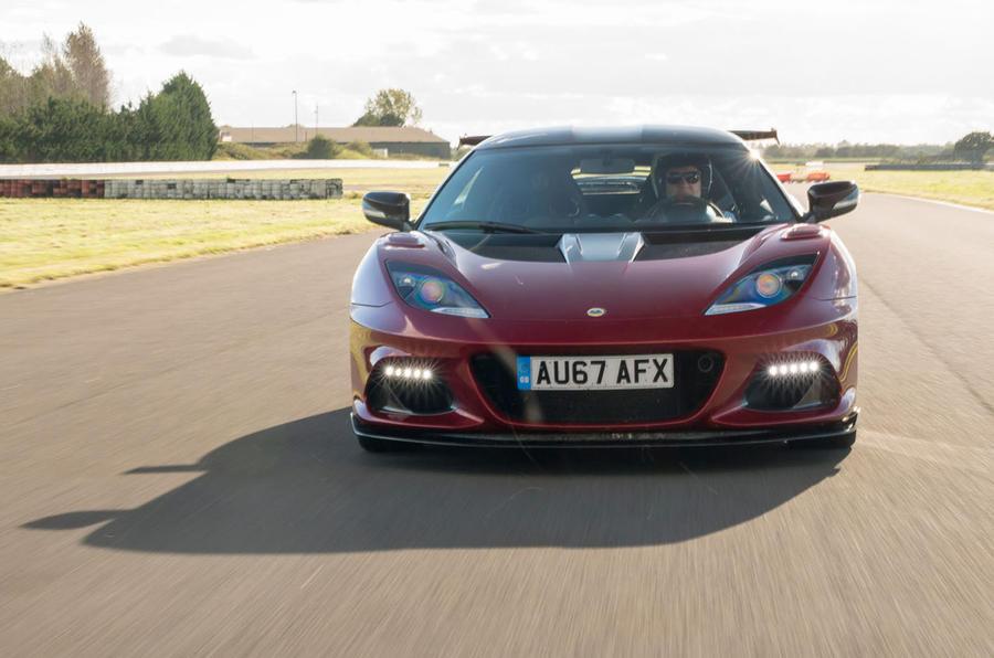 Lotus Evora GT430 front end