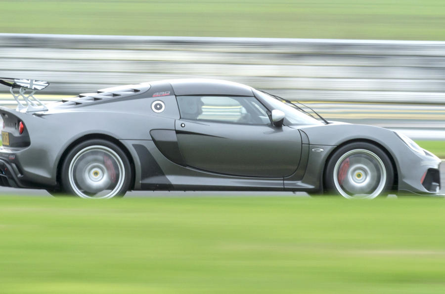 Lotus Exige Cup 430 side profile