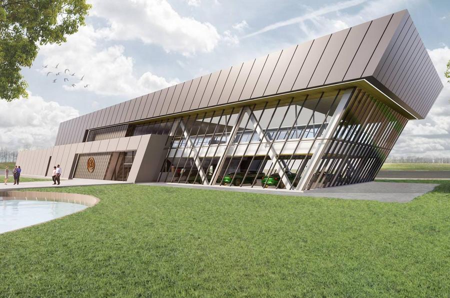 Lotus reveals plans for overhauled Hethel HQ