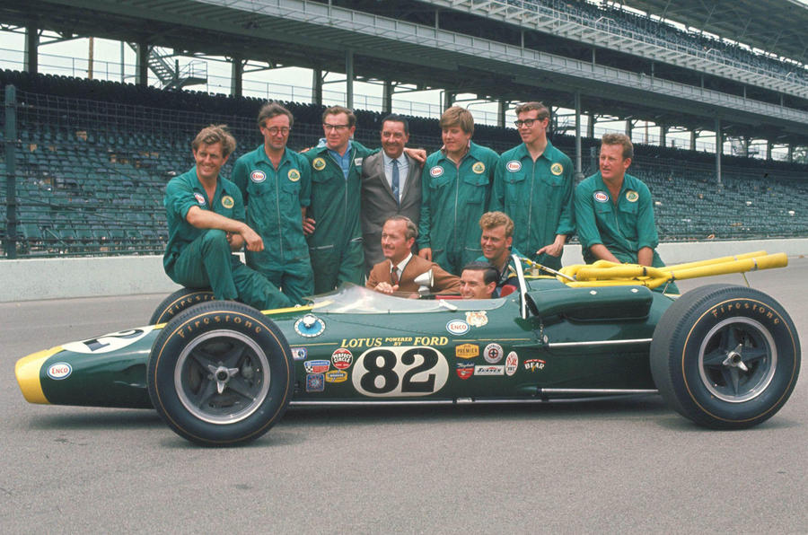 Great race car 11: Lotus 38