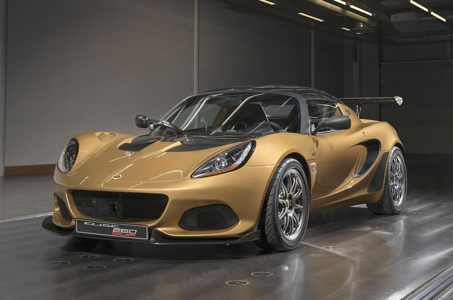Lotus lets you put licence plates on a race car…